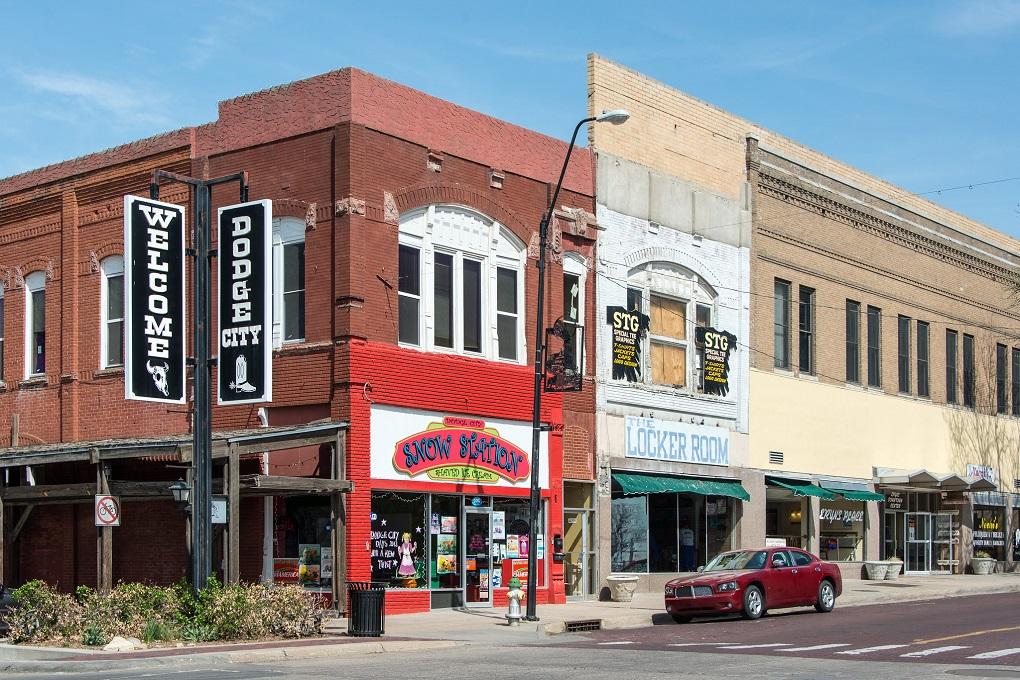 Dodge City, Kansas.